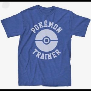 🆕 Pokemon Trainer T-Shirt Royal by We Love Fine